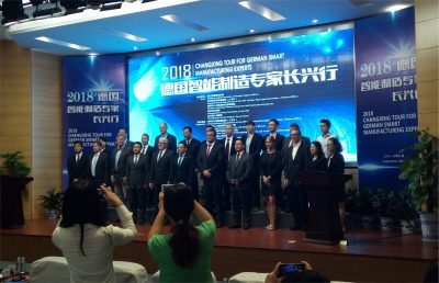 Smart Manufacturing Experts visiting Huzhou and Shaoxing